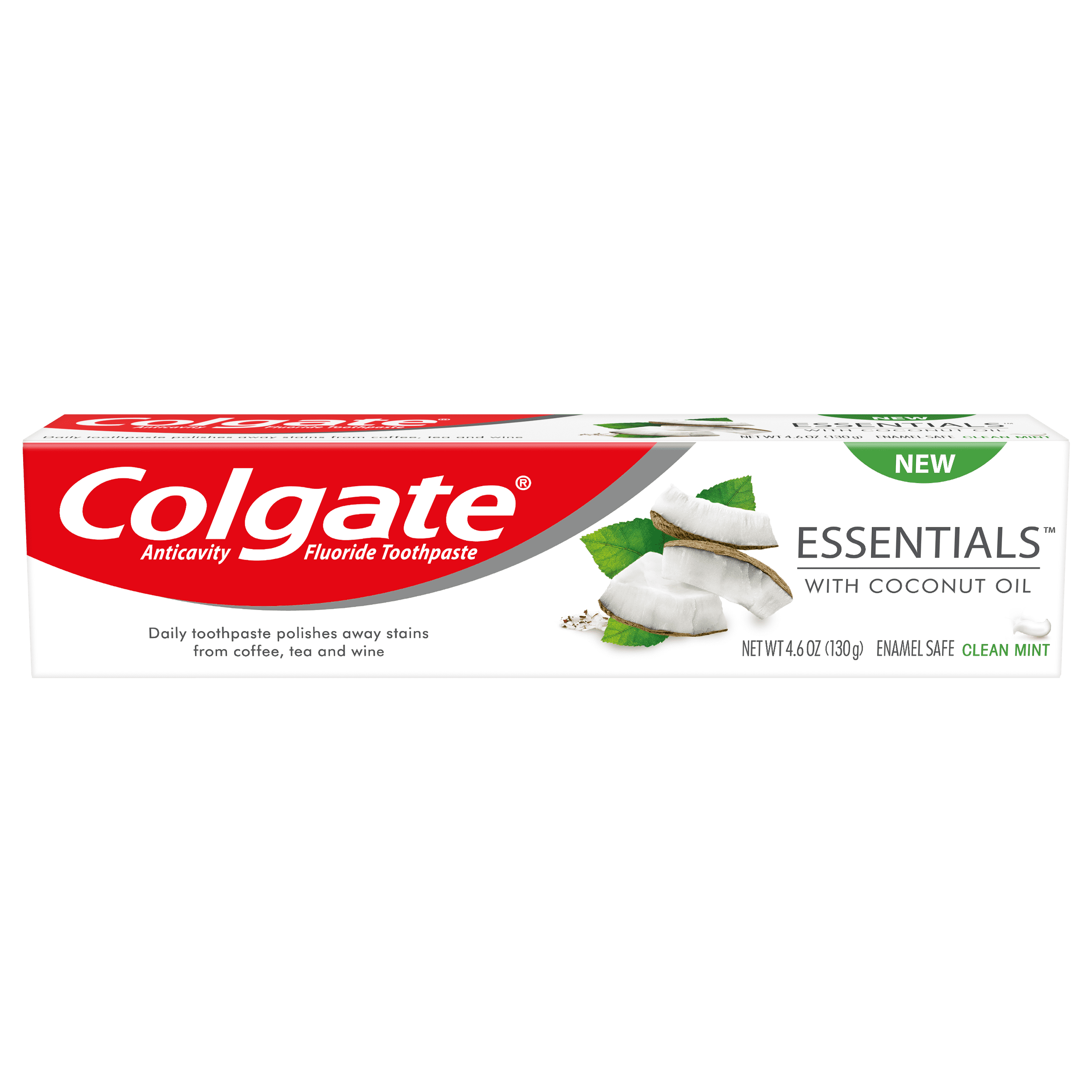 Colgate Essentials with Coconut Oil Whitening Toothpaste