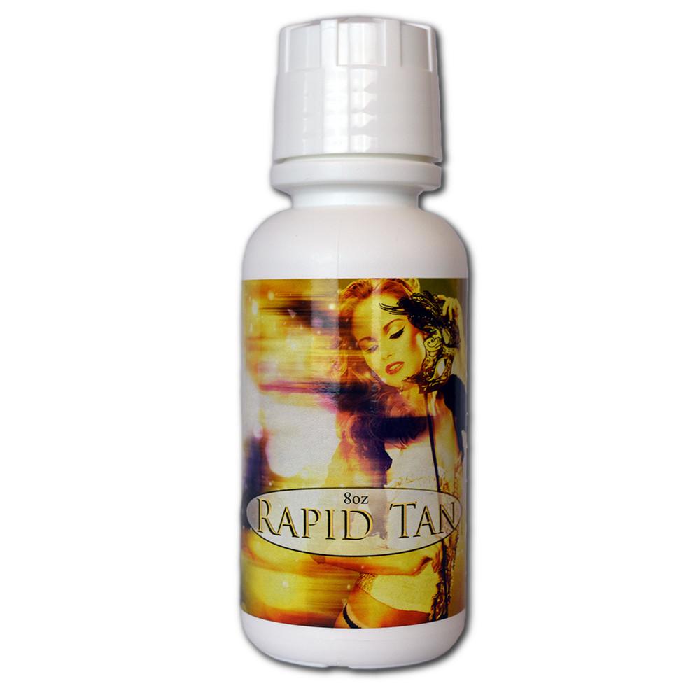Tampa Bay Tan Rapid Tan QUICK ACTING Professional Spray Tan Solution - 8 oz