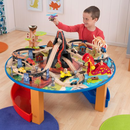 KidKraft Dinosaur Train Table Set - 17961 - Walmart.com