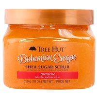 Tree Hut Shea Sugar Scrub, Bohemian Escape, 18 oz.