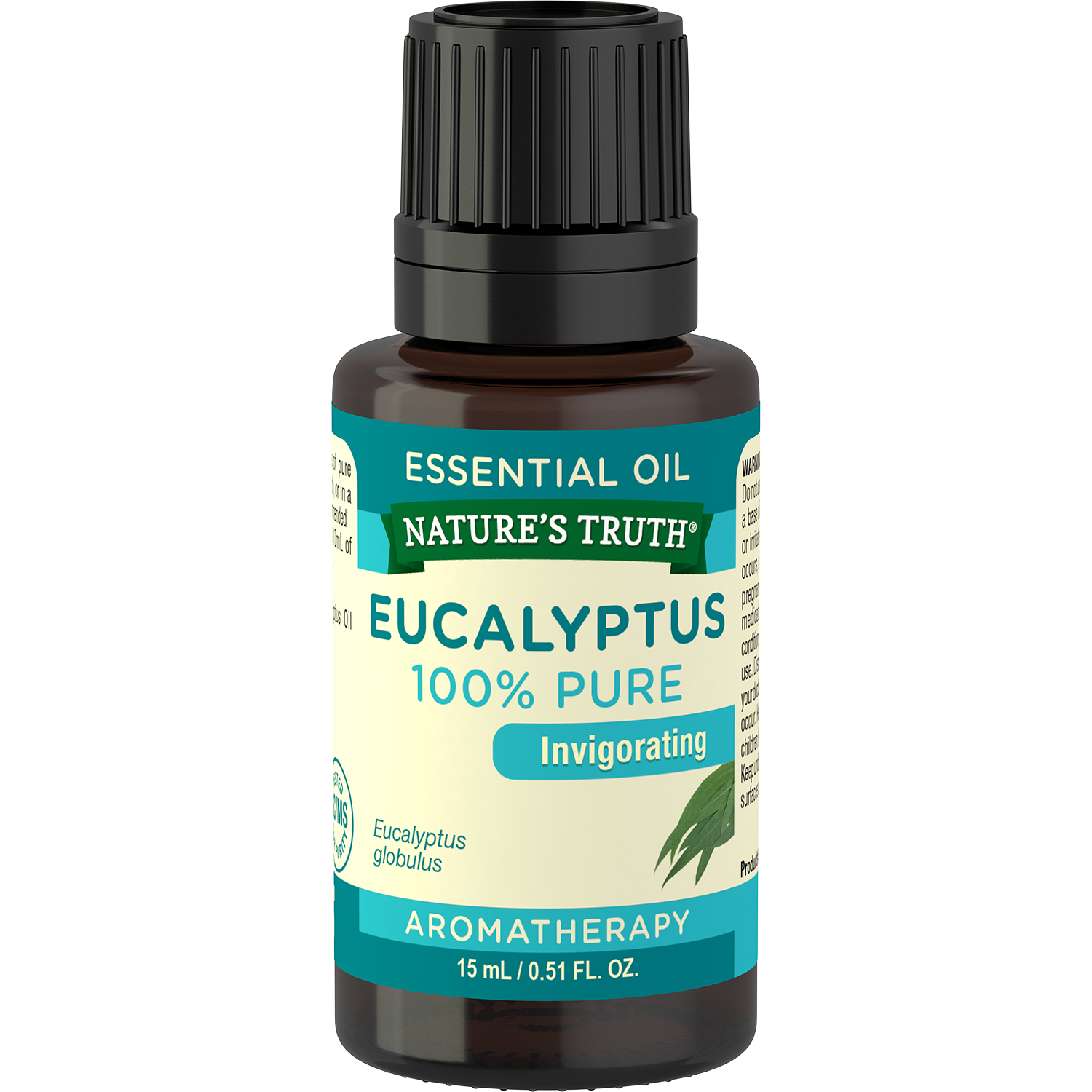 Nature's Truth Aromatherapy Eucalyptus Essential Oil, 0.51 Fl Oz