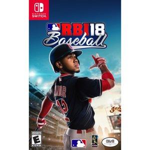 RBI 18 Baseball, Nintendo Switch, 696055179091
