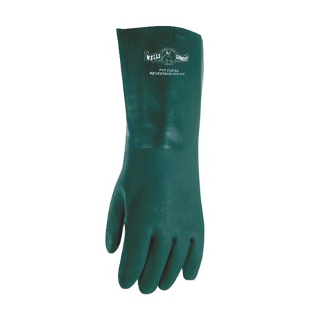 Wells Lamont Green Pvc Coated Glove 167L