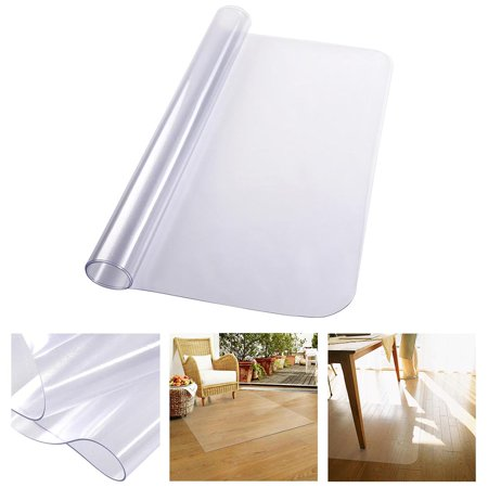 Yescom 48 Quot X 36 Quot Clear Rectangle Pvc Floor Mat Protector 1