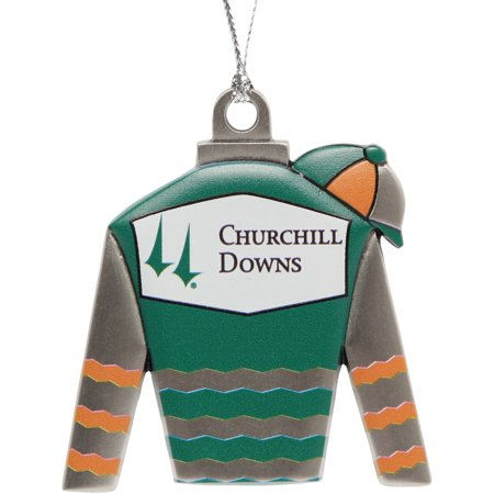 Churchill Downs Jockey Silks Holiday Ornament - No Size - Cheap Jockey Silks