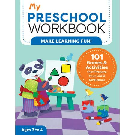 Preschool Circle Time Activities Halloween (My Workbooks: My Preschool Workbook: 101 Games & Activities That Prepare Your Child for School)