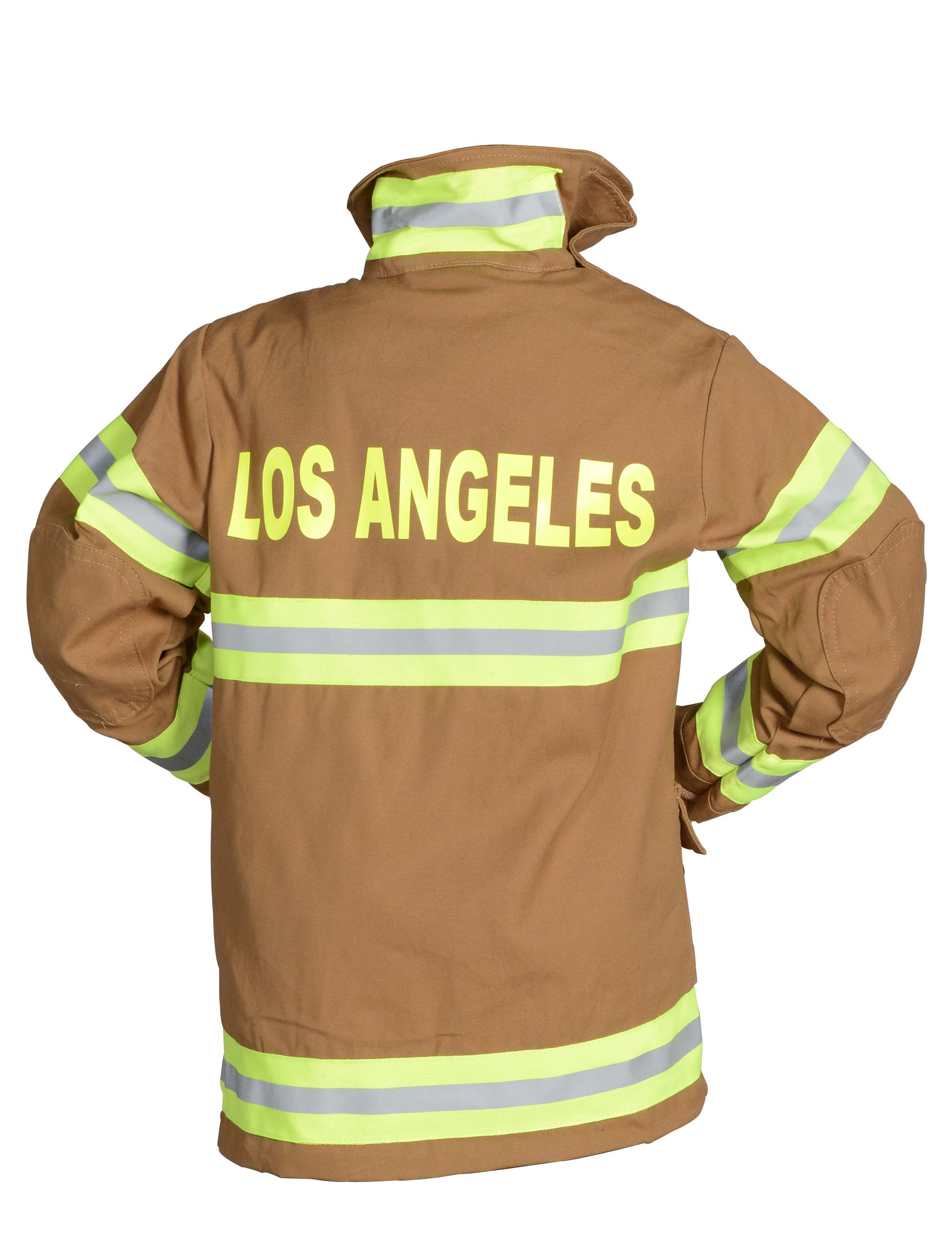 Adult Firefighter Suit-LOS ANGELES In Black or Tan by Aeromax