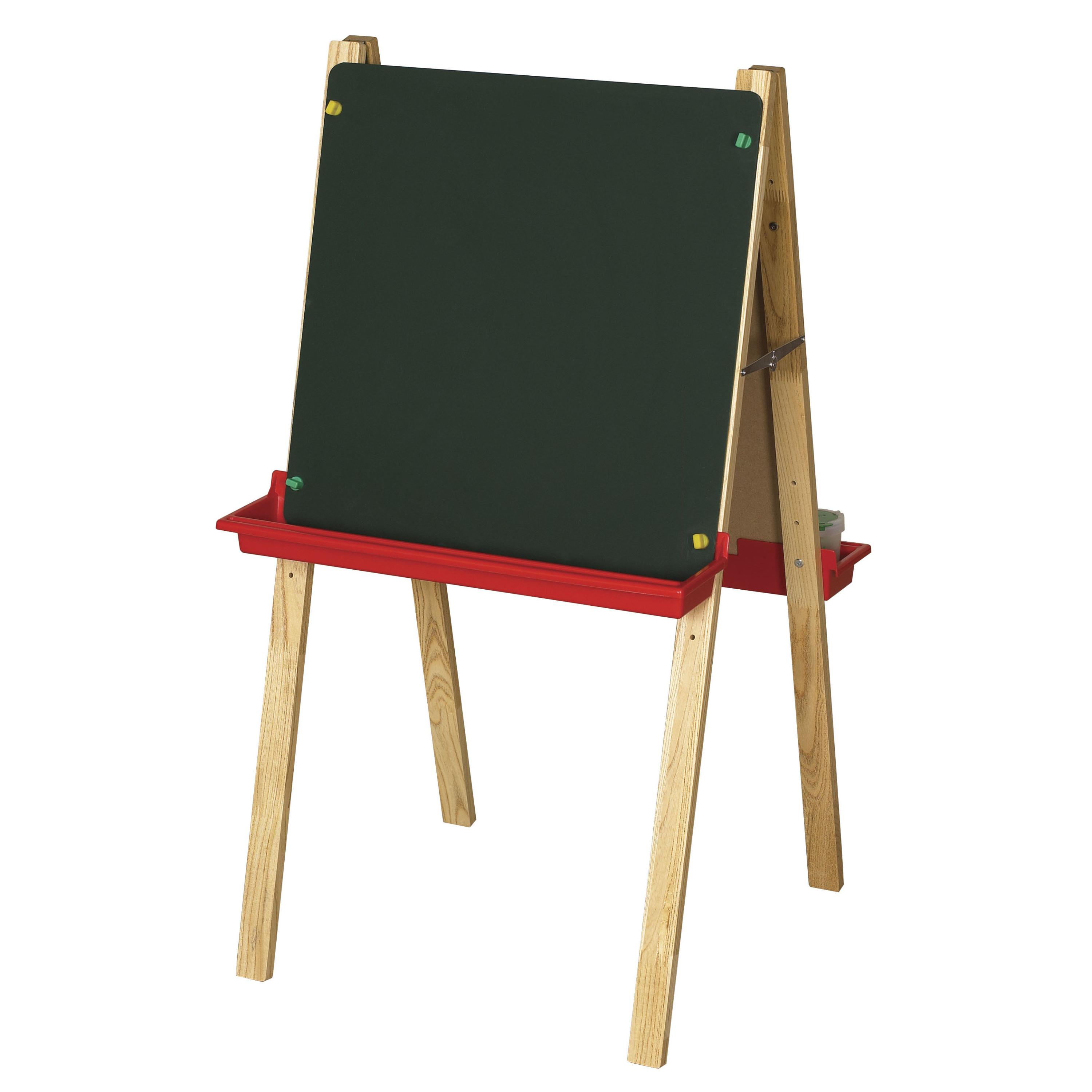 Double-Sided Adjustable Easel Chalkboard and Dry-Erase by ECR4Kids