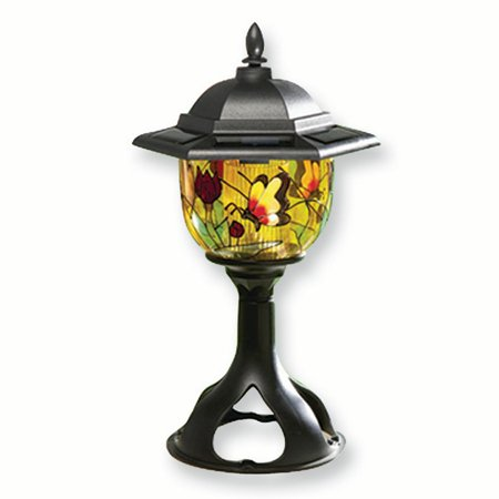 Tiffany Style Solar Outdoor Light Figurine Floral Garden Nautical Hostes Household Entertaining Picnic Beach Gifts For Women For Her - Nautical Outdoor Lighting
