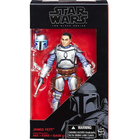 Star Wars  Attack Of The Clones Black Series 6 Inch Jango Fett