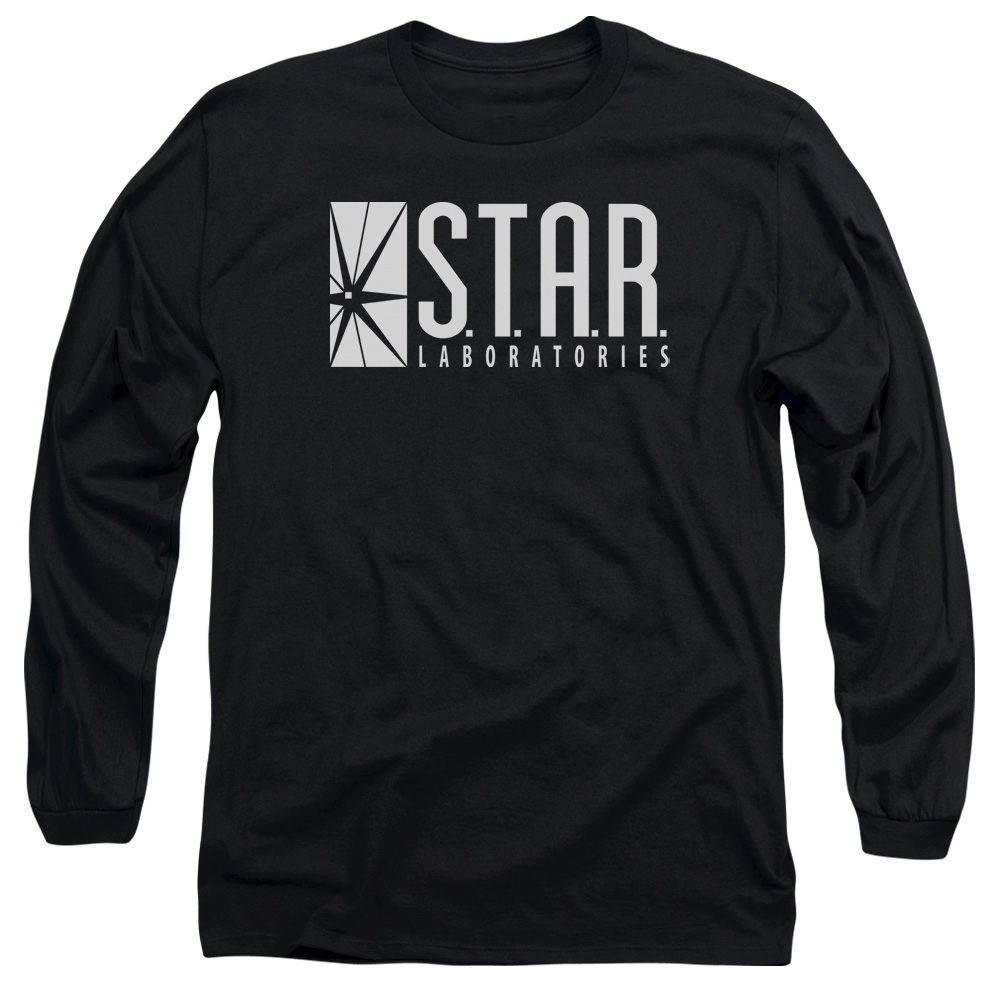The Flash S.T.A.R. Mens Long Sleeve Shirt
