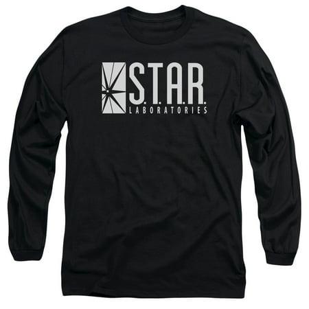 The Flash S.T.A.R. Mens Long Sleeve - Flash Shirt