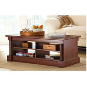 Better Homes and Gardens Ashwood Road Coffee Table, Cherry Finish