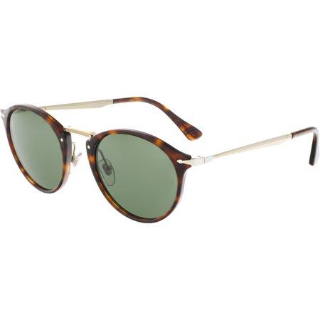 Persol PO3166S-24/31-51 Brown Round Sunglasses