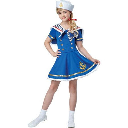 Easy Group Halloween Costumes For Girls (Girls Sunny Sailor Costume)