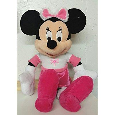 21 inch disney bowtique minnie mouse in snowflake dress christmas plush