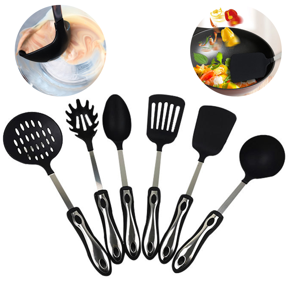 Details about  /Soup Ladle Spoon Long Handle Kitchen Accessories Stainless Steel Cooking Spoons