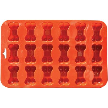 """Mini Bone Silicone Cake Pan-9""""X5.5"""" 18 Cavity (1.625""""X1"""") - image 1 of 2"""