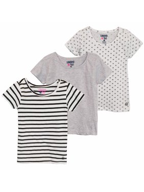 43a8baff3ce Toddler Girls Tops   T-Shirts - Walmart.com
