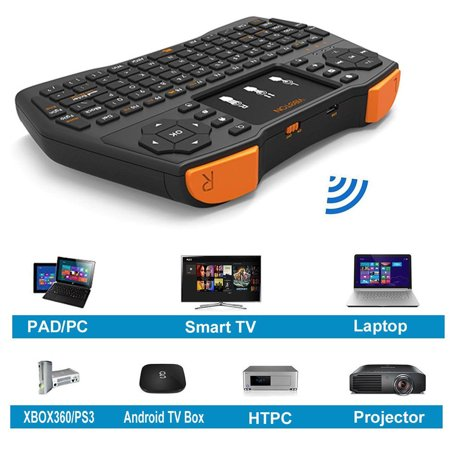 2.4G Mini Wireless Keyboard Touchpad Mouse Combo for Android PC Smart