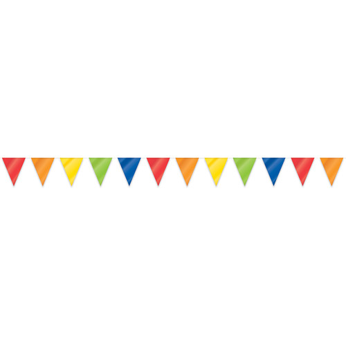 Party decorations mexican fiesta party and mexican fiesta decorations - 33 Giant Rainbow Flag Banner Walmart Com