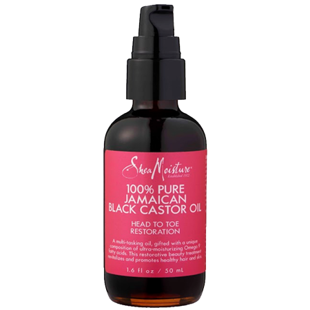 SheaMoisture 100% Pure Jamaican Black Castor Oil, 1.6