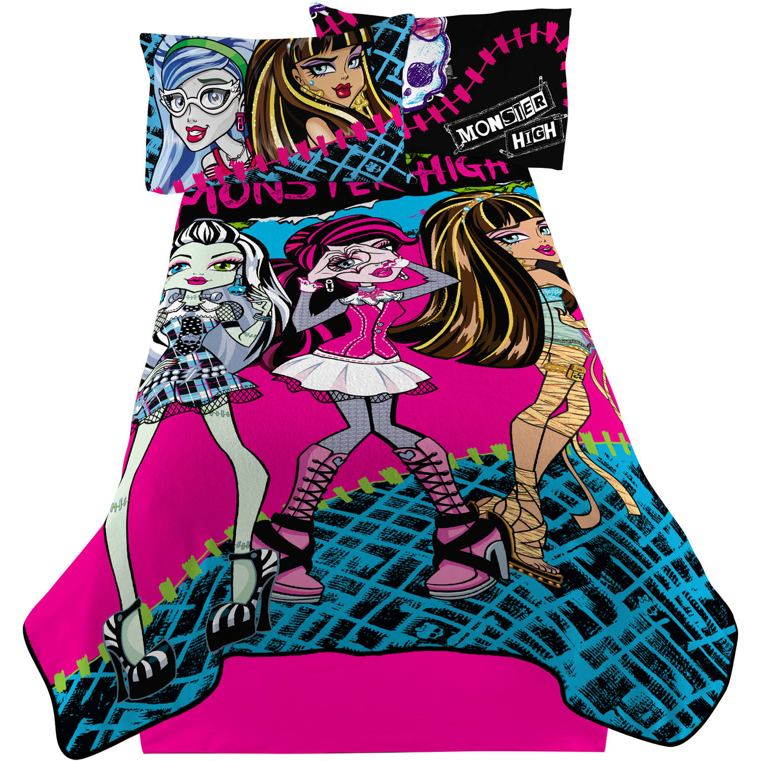 Monster High Ughmazine Twin Bedding Blanket
