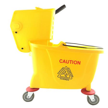 Abco Products 35Qt Mop Bucket/Wringer T01007 Bucket Pail & Wringer