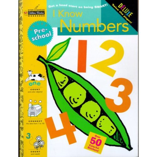 I Know Numbers 1 2 3 4: Grade Pre-School