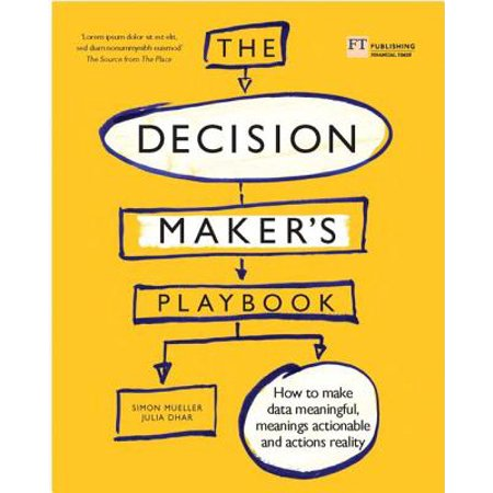 The Decision Maker's Playbook : 12 Tactics for Thinking Clearly, Navigating Uncertainty and Making Smarter (Decision Maker Paperweight)