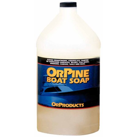 Or Products OP8  OP8; Orpine Boat Soap - Gallon (Orpine Wash)