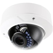 LTS LTCMIP7243W-S 4.1MP 2.8-12mm Varifocal High Resolution True WDR with 24IR LED IP66 Rated Vandal Proof Network Camera ( White )