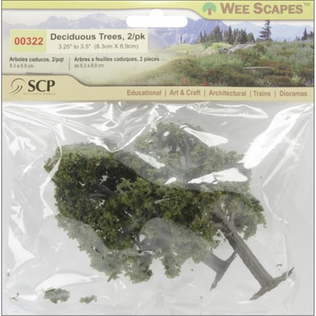 SCP 322 Deciduous Trees 3. 25 inch To 3. 5 inch 2-Pkg