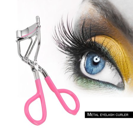 Girls Women Metal And Silicone Cushion Ring High Level Eyelash Curling Curler Mascara Beauty Eyelash Curlers for Lady - image 2 de 6