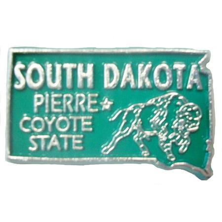 South Dakota the Coyote State Souvenir Fridge Magnet