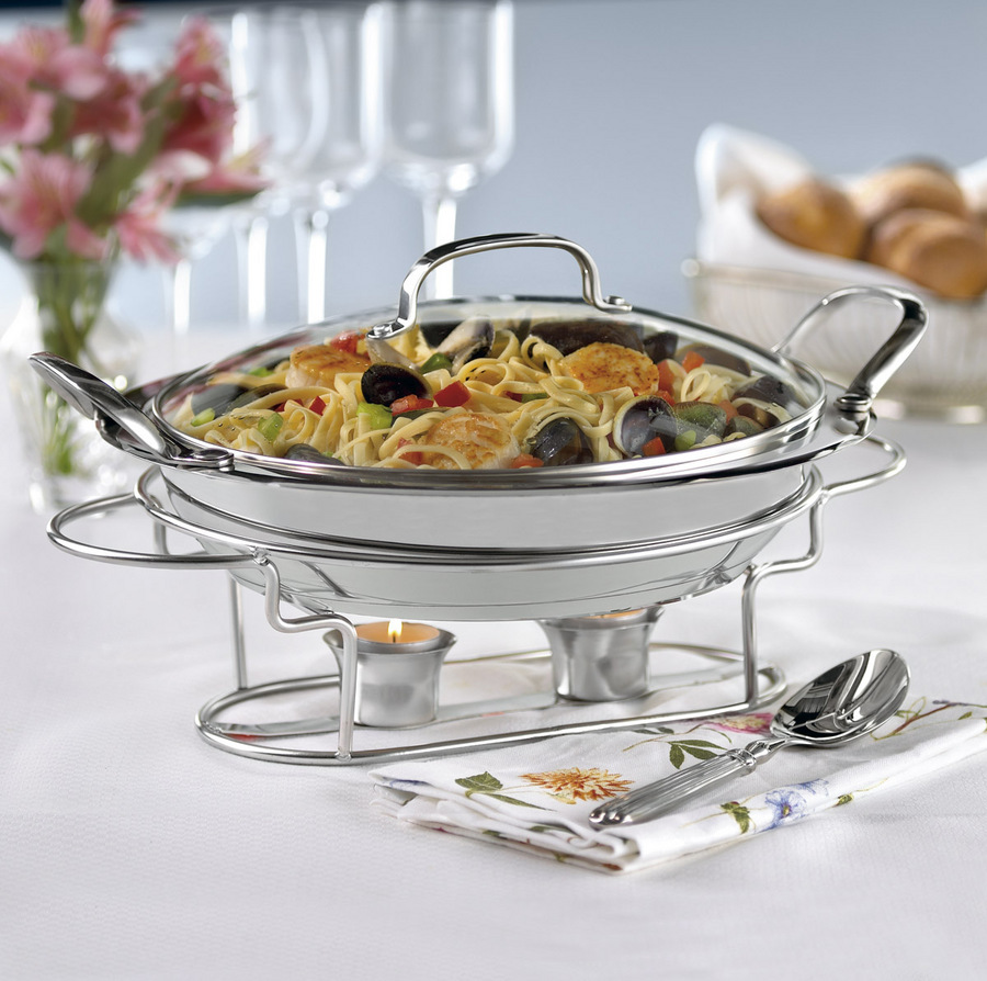 "Cuisinart Classic Entertaining 11"" Round Buffet Server"