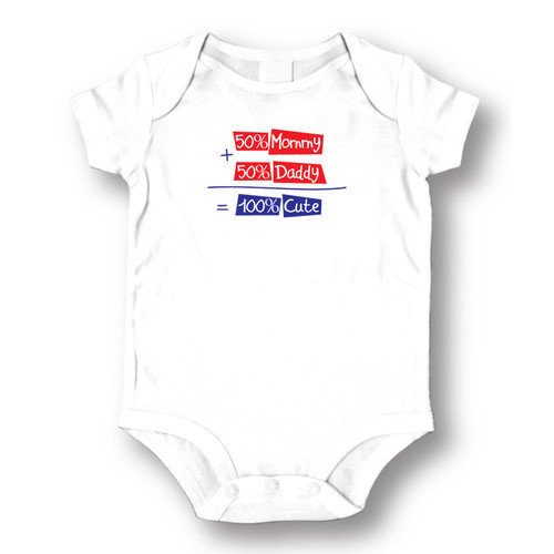 Attitude Aprons by L.A. Imprints 100pct Cute Baby Romper