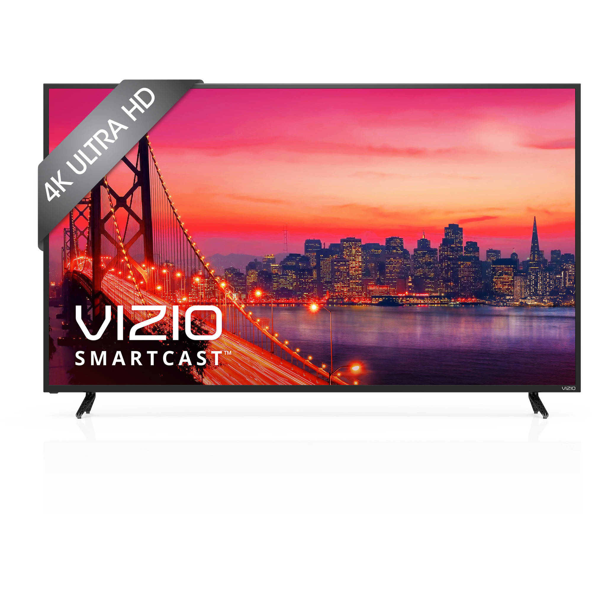 VIZIO SmartCast E - Series 65 Class (64.5 Diag.) Ultra HD 2160p 120Hz Full Array LED Smart Home Theater Display w /  Chromecast built - in (E65u - D3)