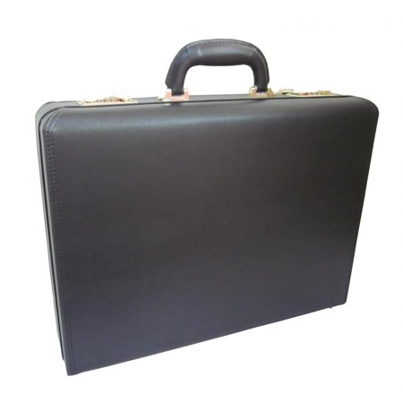 Amerileather Caldwell Executive Microfiber Faux Leather Attache