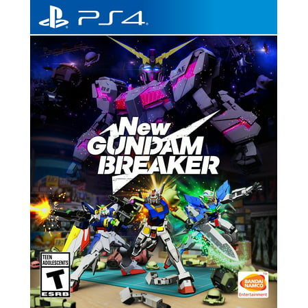 New Gundam Breaker, Bandai/Namco, PlayStation 4,