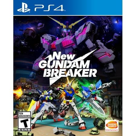 New Gundam Breaker, Bandai/Namco, PlayStation 4, 722674121729 (Playstation 4 New)