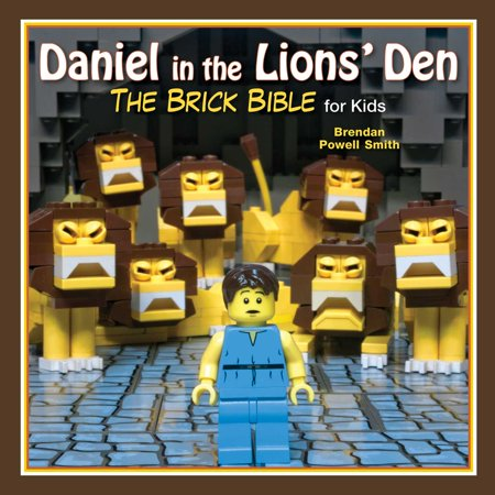 Daniel in the Lions' Den : The Brick Bible for (Daniel In The Lion's Den Craft)