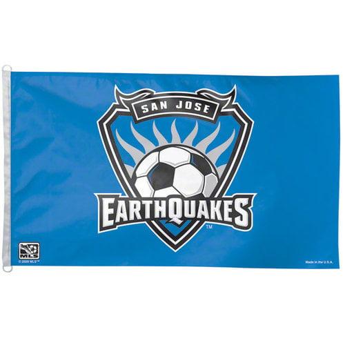 Earthquakes 3x5 Flag