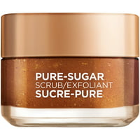 L'Oreal Paris Pure Sugar Scrub with Grapeseed to Smooth and Glow, 1.7 oz.