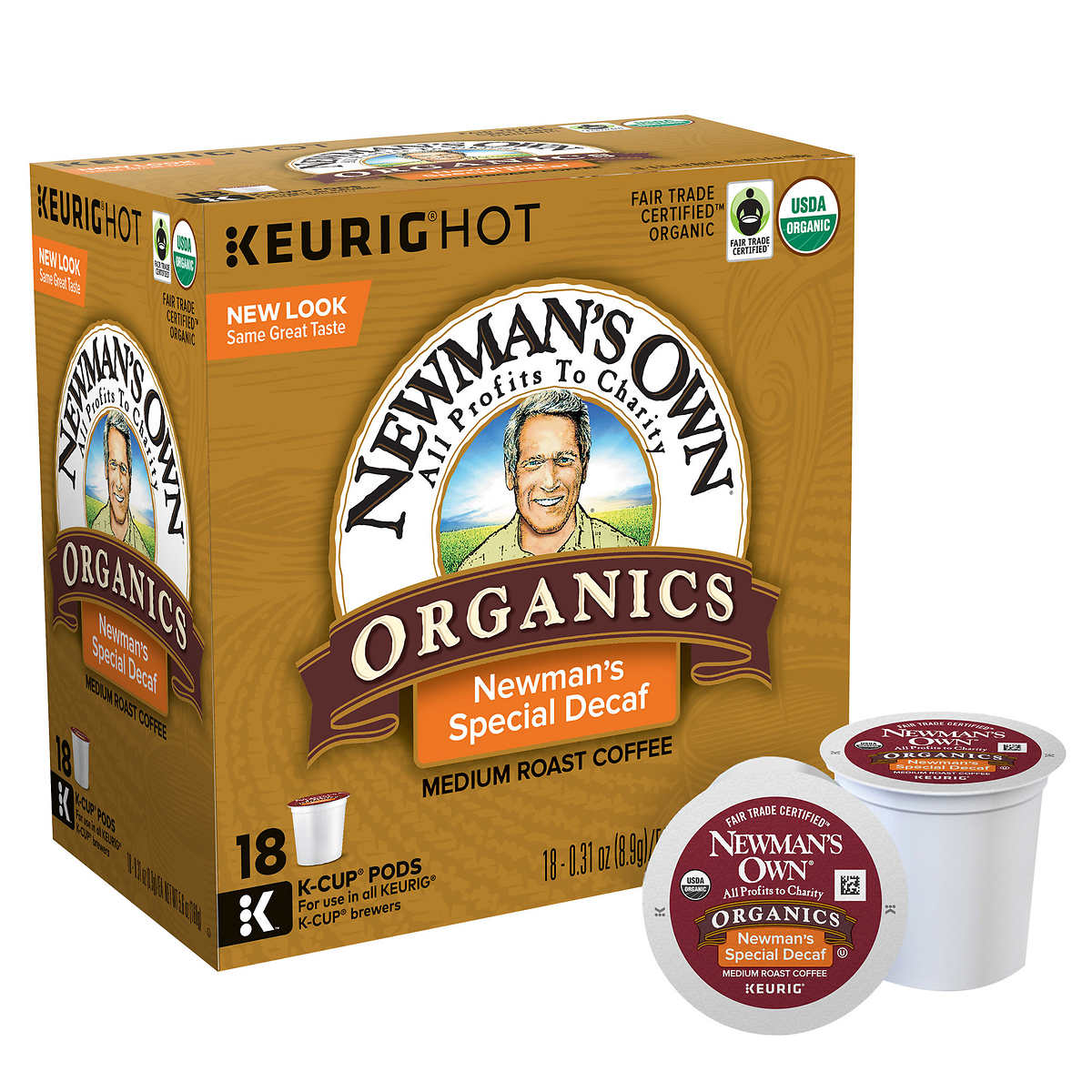 Newman's Own - Newman's Own Organics Decaf Special Blend ...