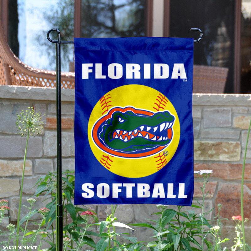 "Florida Gators Softball 13"" x 18"" College Garden Flag"