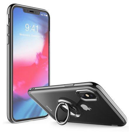 SUPCASE [Unicorn Beetle Snap Series] Case Designed for iPhone Xs 5.8, 360° Rotating Built-in Ring Holder Kickstand -