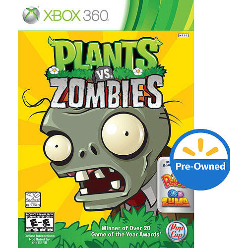 Plants vs. Zombies (Xbox 360) - Pre-Owned