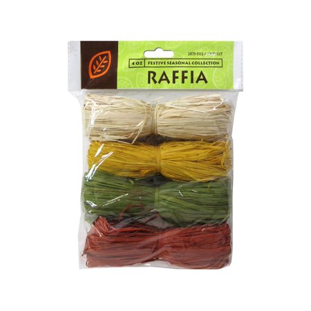 JMS Raffia Harvest Collection 4Color Total (Variegated Raffia)