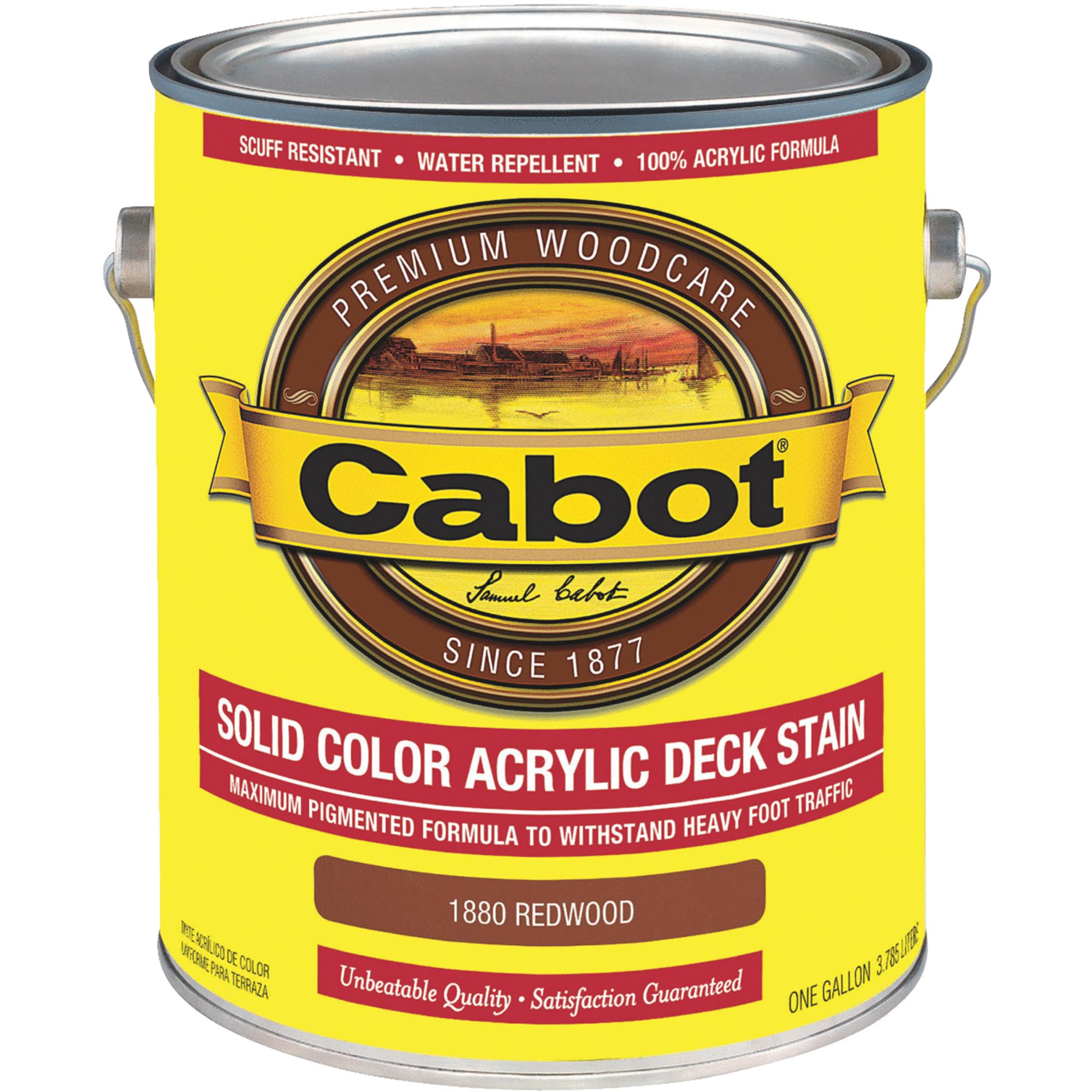 Cabot Solid Color Acrylic Deck Stain